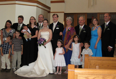 All the Marjamaa family - Emily & Michael with sons Aaron & James - Jennifer & Andrew with son Owen - Katie & Jon - Mary Anne & David (Andrew's daughter Katherine by Katie) - Cristen & John Taylor with daughter Grace and son Brendan