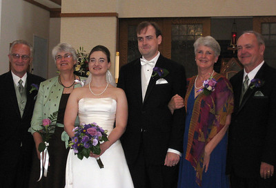Katie's parents, Katie & Jon, Mary Anne & David
