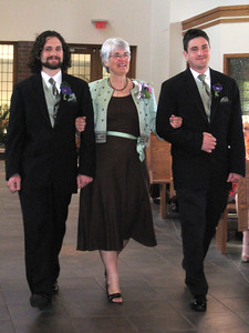 Katie's mother and brothers