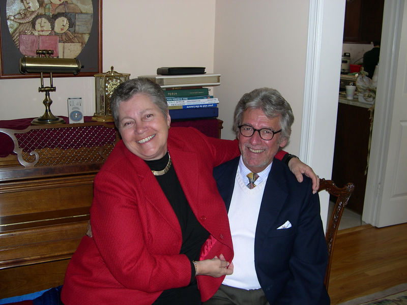 Laurie and Bill Eckert.