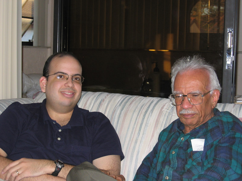 Jonathan and his Grandpa could talk about the sciences all day!