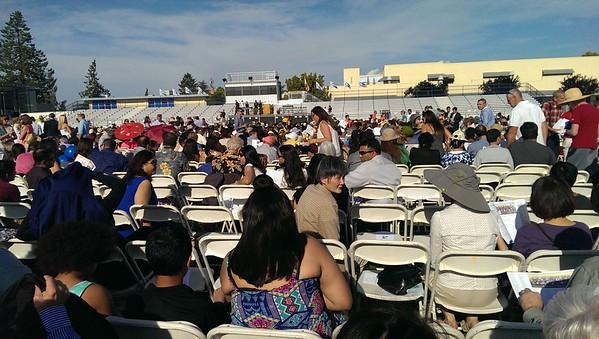 Jordan HS graduation
