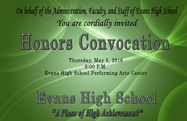 2016 EHS Honors Convocation