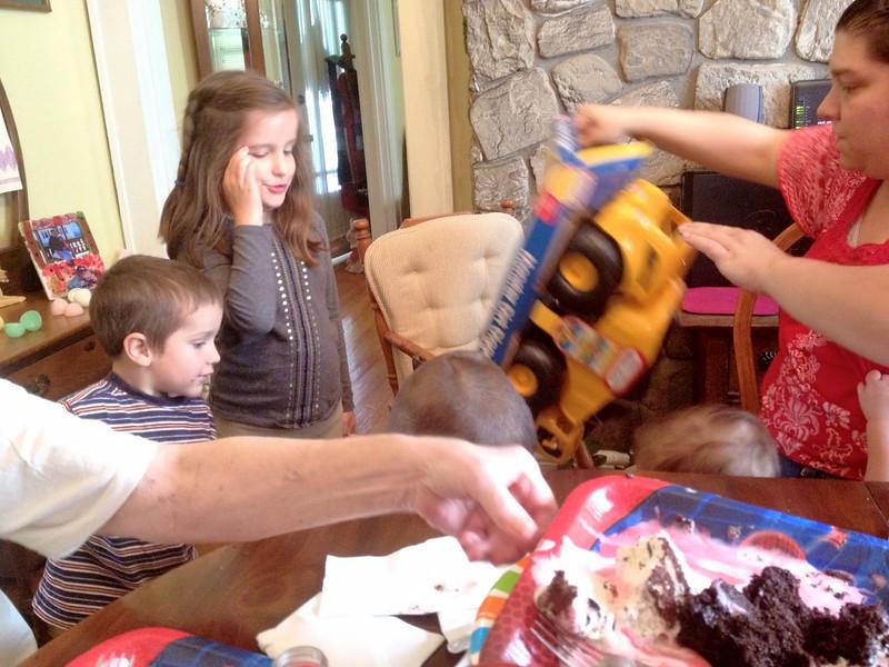 Joseph's Third Birthday