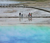 Viewing Grand prismatic spring