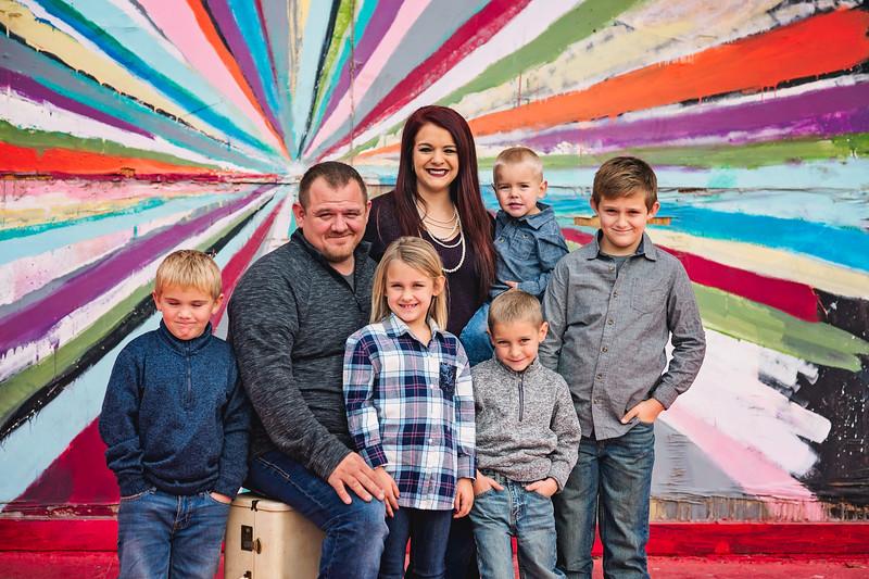 Josh & Andrea Family Portraits
