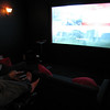 """Playing COD on a 110"""" Projection Screen"""