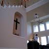 Cross on Stairway