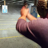 Josh Shooting a 357 Magnum Revolver for the first time