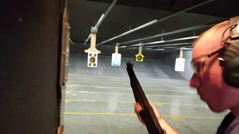 Josh Shredding some targets