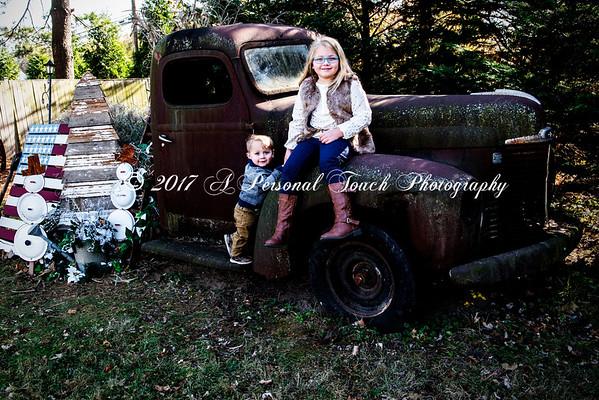 Joy Matt and the kids 2017