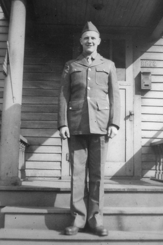 Dad Joyce in 1943