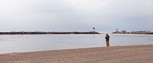 Fisherman, New Buffalo, Michigan