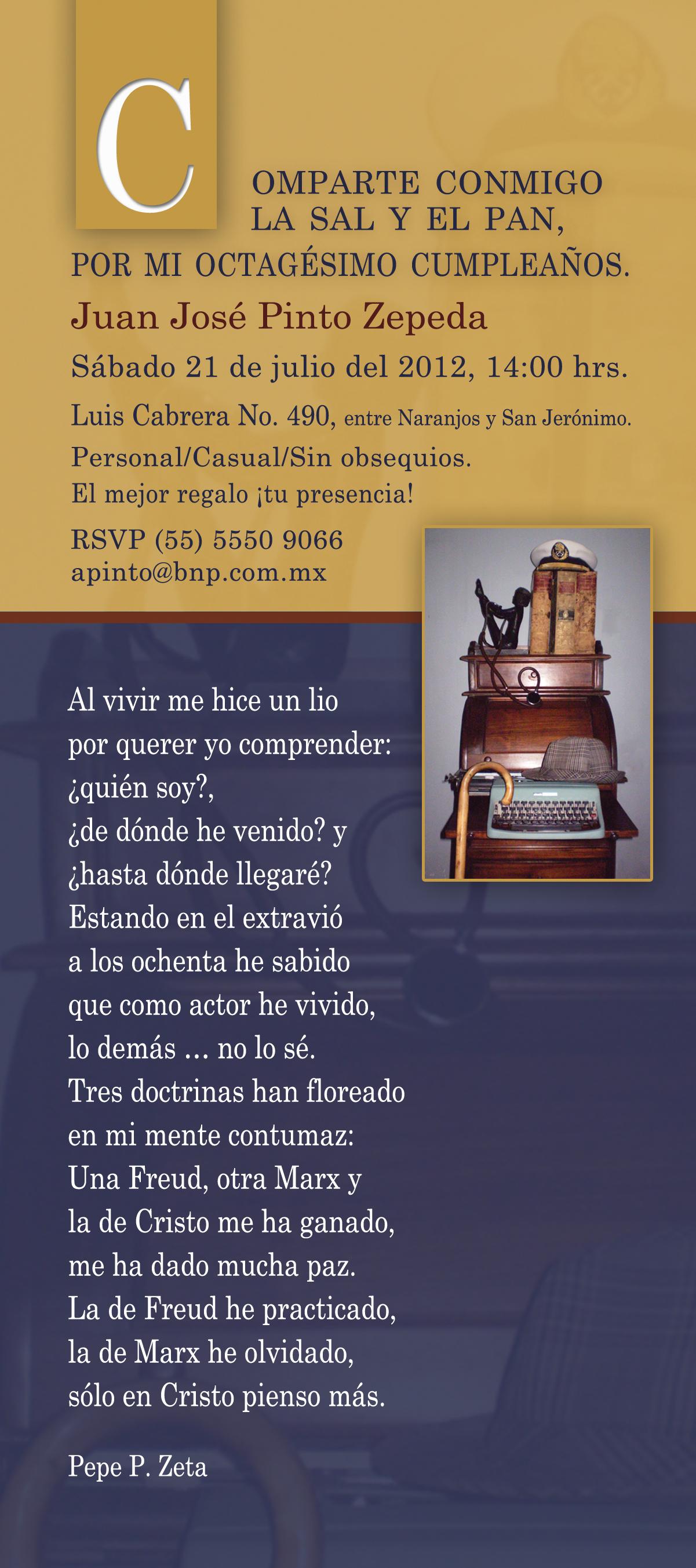 Juan Jose_80th