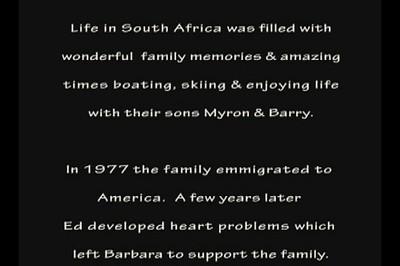 Barbara's Life Video