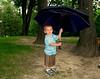My cousin Mason waiting for rain,we had a little.