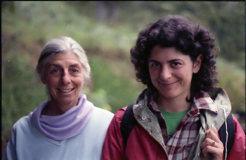 Judith and Rachel, Clear Ridge, 1987