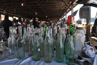 Old Bottles for sale at the Mountain City Flea Market, 3 weekends left 10/29/2011