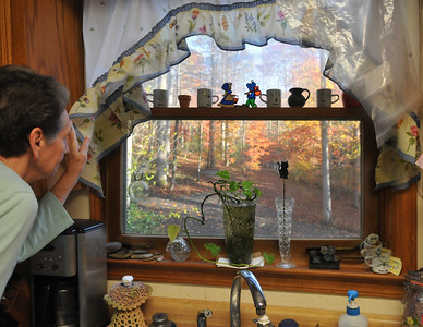 Judy Looking out window
