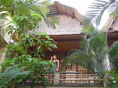 Ubud, central Bali...our room