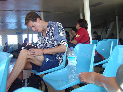 long slow ferry to Lombok and the Gili Islands