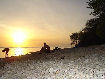 dead coral beach, Gili Trawangan