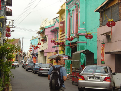 wandering through the Chinese District of Melaka