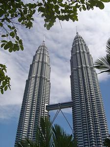 iconic Petronas towers, KL