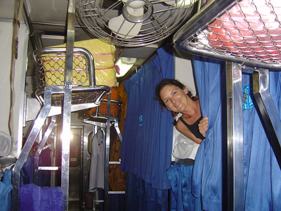 second class overnighter (train) to Butterworth, Malaysia