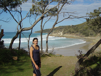 Honeymoon bay, Moreton Is.