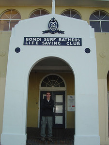 Bondi beach life-saving club (the oldest in the world)