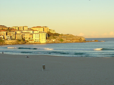 sunset at Bondi