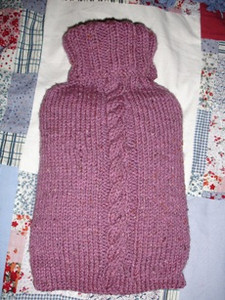 hotwater bottle cover