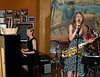 Kate and friend perform jazz standards at Caffe Trieste, August 2007.