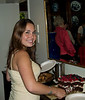 Emily Knell is off to Dickenson College -- here she is at her and sister Sarah's goodbye party.