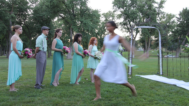 "The bride is a dancer so she had a friend perform during the ceremony to the song ""Beloved"" which just happens to be by our son Mike and his band Tenth Avenue North.  That was a cool blessing!"