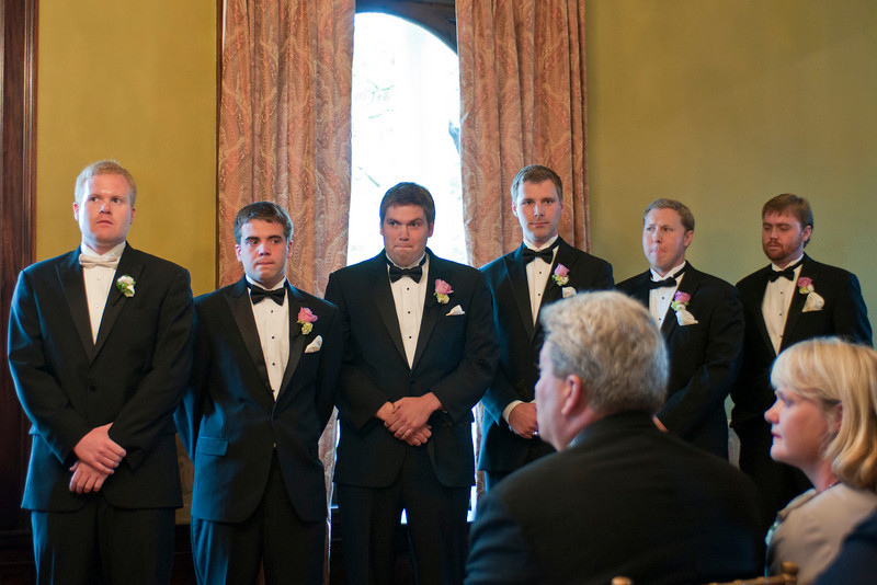 Sorry I was not in position to shoot the bride's maids.  Gotta love the facial expressions of these guys!