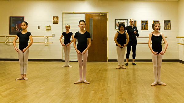 VIDEO - Julianna's ballet class