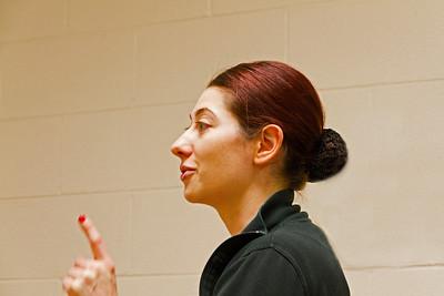 Dance teacher Miss Crissy