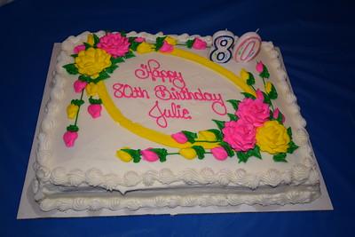 Julia's 80th Birthday