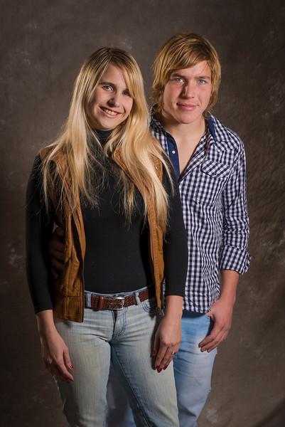 Julieta y Emiliano Presser