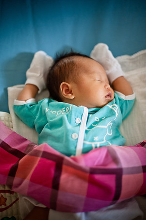 Julius Chee 1 Month Old