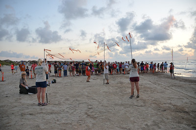 July 13, 2013 - Day 2, Turtle release on Padre Island National Seashore, Beach, and Pool
