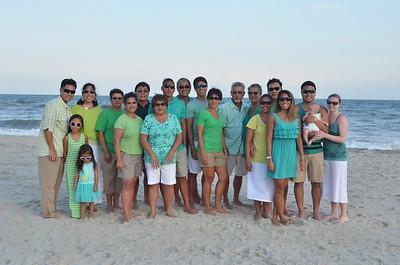 July 13-18, 2015 - Wong Family Reunion at Ocean Isle Beach House in North Carolina