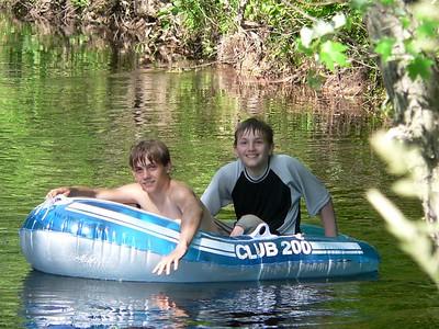 July 2005 Camping