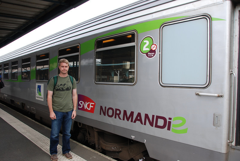 SB:  Brian is excited to go to Normandy.