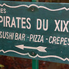 Bet you did not know pirates could make japanese, italian, and French food.