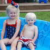 Staying cool in the pool!!!
