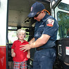 Touring the firetruck
