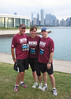 Tom, Sarah and Justin representing IU in the 2nd annual Big Ten Network 10K on July 27, 2013